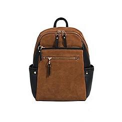 Parfois - Camel sahara backpack bag