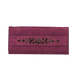 Parfois - Bright pink English heritage clutch bag