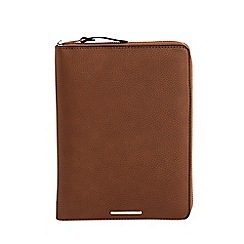 Parfois - Camel brown English heritage notebook