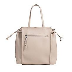 Parfois - Cream super basic shopper bag