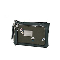 Parfois - Khaki super cosmetic purse