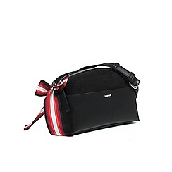 Parfois - Black duplex cross body bag