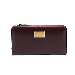 Parfois - Dark red donna florencia wallet