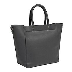 Parfois - Black laforet shopper bag