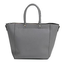 Parfois - Grey laforet shopper bag