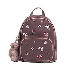 Parfois - Pink monet backpack