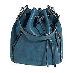 Parfois - Navy churri handbag