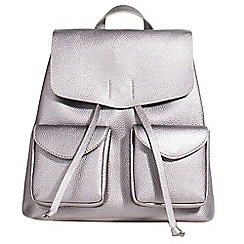 Parfois - Silver monaco backpack