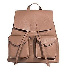 Parfois - Taupe monaco backpack