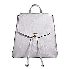 Parfois - Silver lanzarote backpack