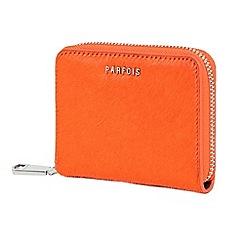 Parfois - Orange paint purse
