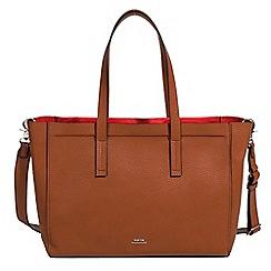 Parfois - Camel brown sevilla nights Shopper bag