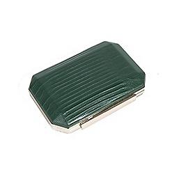 Parfois - Green kruga party clutch bag