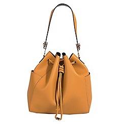 Parfois - Mustard yellow elizabeth handbag