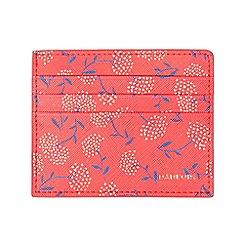 Parfois - printed red wallet card holder