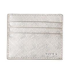Parfois - Silver pink wallet card holder