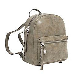 Parfois - Khaki churri backpack