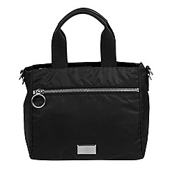 Parfois - Black churri shopper bag