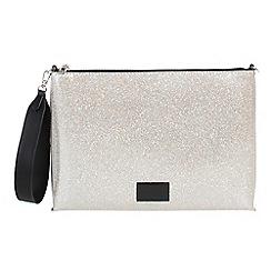 Parfois - Silver glaze crossbody bag