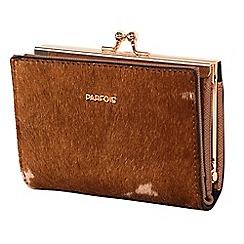 Parfois - Camel fur wallet