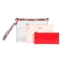 Parfois - Red exxa cosmetic purse
