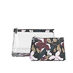 Parfois - Black raya cosmetic purse