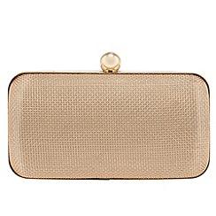 Parfois - Gold 'Fame' clutch