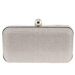 Parfois - Silver 'Fame' clutch
