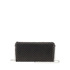 Parfois - Black 'Party' clutch