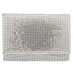 Parfois - Silver teen mesh cross bag