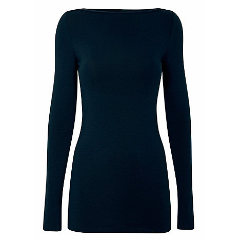 HotSquash - Teal close fitting thermal top with ThinHeat