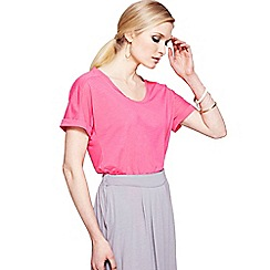 HotSquash - Pink loose fitting tee with CoolFresh