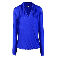 HotSquash - Cobalt crossover top with CoolFresh