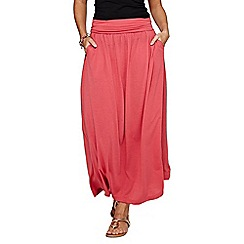 HotSquash - Coral Maxi Skirt with CoolFresh