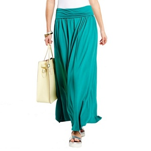 HotSquash Lawn Maxi Skirt with CoolFresh