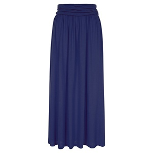 HotSquash Navy Maxi Skirt with CoolFresh