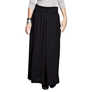 HotSquash Black maxi skirt with CoolFresh