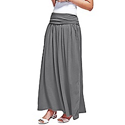 HotSquash - Grey Maxi Skirt with CoolFresh