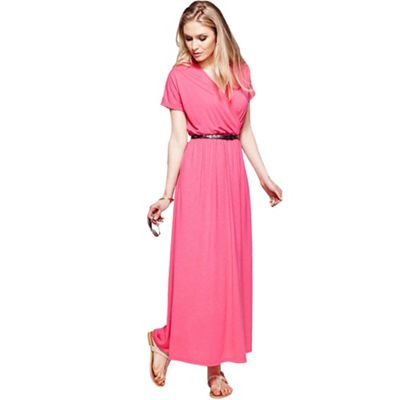Pink maxi dress with CoolFresh