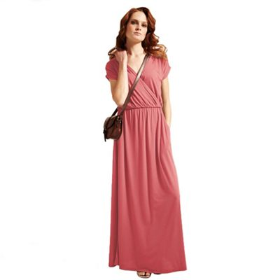Coral maxidress with CoolFresh