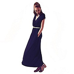 HotSquash - Navy Maxidress With Coolfresh