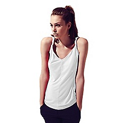 HotSquash - White Vest With Twisted Straps Using CoolFresh