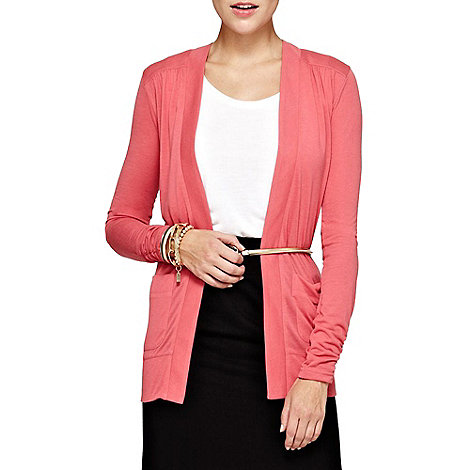 HotSquash - Coral Longline Cardigan With CoolFresh
