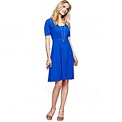HotSquash - Cobalt CoolFresh round neck short sleeved dress