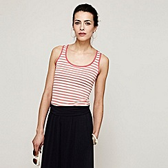 HotSquash - Coral Striped Vest With Unique Coolfresh