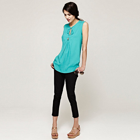 HotSquash - CoolFresh Turquoise bib top with drawstring