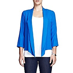 HotSquash - Cobalt crepe cardigan in Clever fabric
