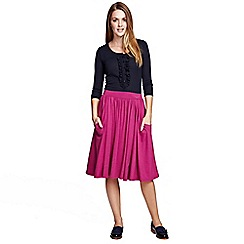 HotSquash - Berry Floaty fit 'n flare skirt in ThinHeat