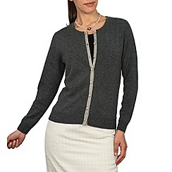 HotSquash - Dark grey Wooluxe cardigan from Hotsquash