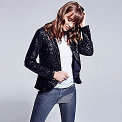 HotSquash - Black sequin jacket with thinheat
